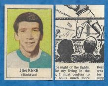 Blackburn Rovers Jim Kerr 1970